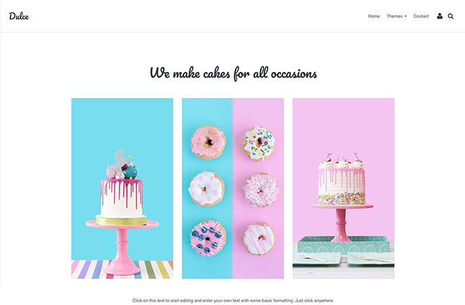 Dulce Website Template