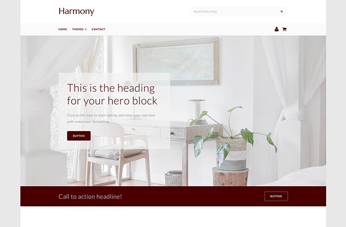 Harmony Website Template