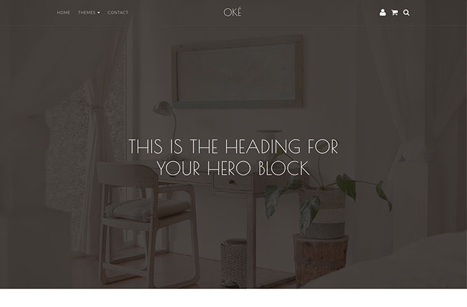 Oke Website Template